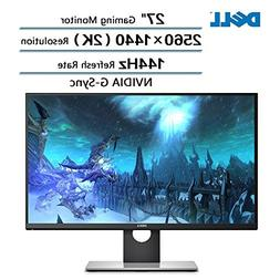 """Dell Flagship High Performance 27"""" Gaming Monitor with WQHD"""