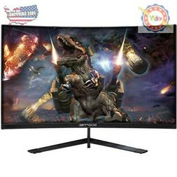 "Sceptre 24"" Curved 144Hz Gaming LED Monitor Edge-Less AMD Fr"