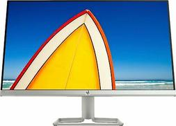 "HP - 24f 23.8"" IPS LED FHD FreeSync Monitor - Natural Silver"