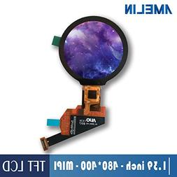1.39 inch 400400 Small Round Screen Touch Panel OLED Display