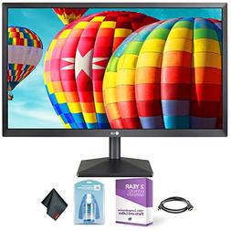 "LG 24"" Class Full HD IPS LED Monitor with AMD FreeSync  + Cl"