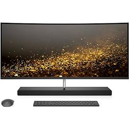 HP ENVY 34-b010 34-inch Curved All-in-One Computer , Silver