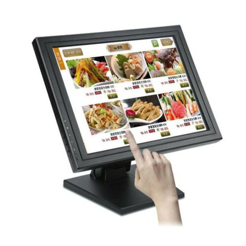 """15"""" Touch Screen USB LCD TouchScreen Monitor VGA LED Retail"""