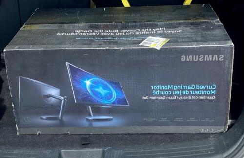 27 widescreen curved gaming led monitor lc27fg70fqnxza