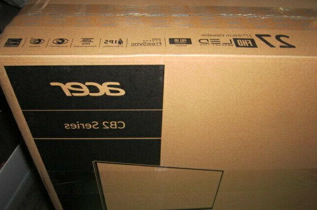 ACER CB272 FULL HD 1920 1080 IPS HOME MONITOR
