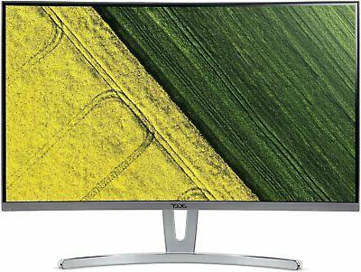 """Acer ED273 wmidx 27"""" Full HD  Curved 1800R VA Monitor with A"""
