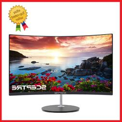 """New LED Monitor Sceptre 27"""" Curved 75Hz HDMI VGA Build-in Sp"""
