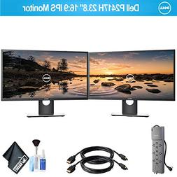 "Dell P2417H 23.8"" 16:9 IPS Dual Monitor Set with 1 - Belkin"