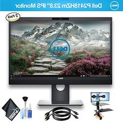 "Dell P2418HZm 23.8"" IPS Monitor with HDMI Cable, 2 Monitors"