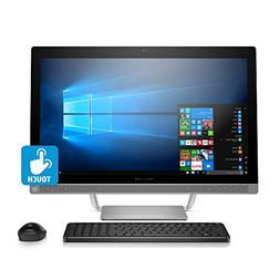 HP Pavilion 27-inch All-in-One Computer, Intel i5-7400T, 12G