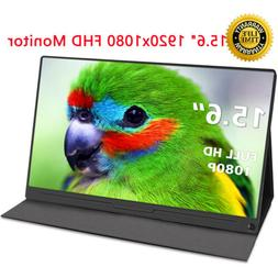 "Portable Monitor -Brand 15.6"" Inch Full HD 1080P USB Type-C"