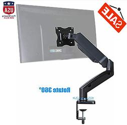 Single Arm Monitor Desk Mount Computer TV Stand for Size up
