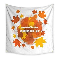 Anniutwo Tapestry Bedding Autumn is Coming Soon Concept with
