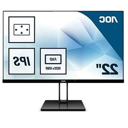 "AOC Value-line 22V2Q 21.5"" Full HD LED Flat Black Computer M"