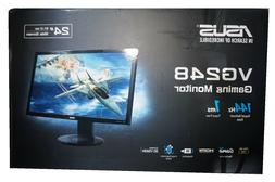 NEW ASUS VG248QE Widescreen LCD Monitor 24-in 24in LED 1ms 1
