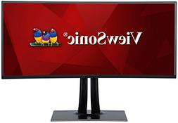 """ViewSonic VP3881 38"""" PRO UltraWide Curved Monitor USB Type C"""